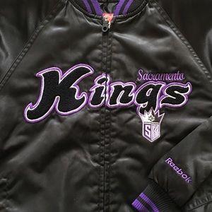 Sacramento Kings  Reebok Jacket Size Medium